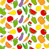 Background fruits and vegetables Stock Image