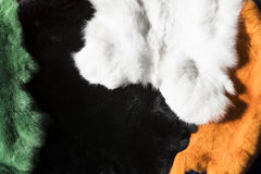 Background of a fur texture of expensive fur-bearing Royalty Free Stock Images