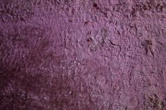 Lilac old plush. Royalty Free Stock Image