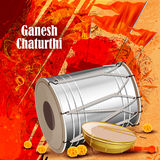 Background for Ganesh Chaturthi Royalty Free Stock Images