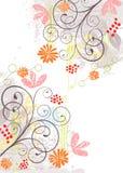 Background garden. Floral background decoration garden stylisch abstract designe Stock Images