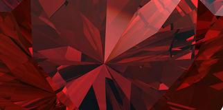Background of garnet gemstone Stock Photography