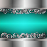 Background of gear wheel. Abstract background of gear wheel stock illustration