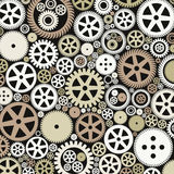 Background of gears Royalty Free Stock Photos