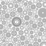 Background of gears3 Royalty Free Stock Photo