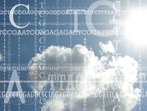 Background for genetics Royalty Free Stock Photos