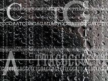 Background for genetics Royalty Free Stock Image