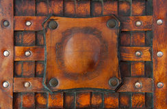 Background from a genuine leather structure Royalty Free Stock Image