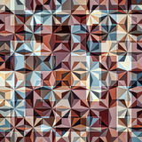 Background Geometric Colorful Pattern. Mosaic hipster background made of triangles. Retro label design. Square composition with geometric shapes. Hipster theme Stock Photos