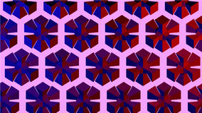 Background geometric image. Background image of colored pattern made of geometry shapes Stock Illustration