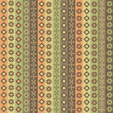 Background with geometric modules. Various geometric patterns in assorted colors vector illustration