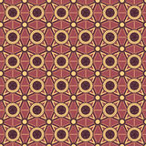 Background with geometric ornaments Stock Photography