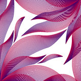 Background geometric petals Stock Images