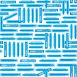 Background geometric roughen. Blue color stock illustration