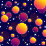 Background geometric round Royalty Free Stock Image