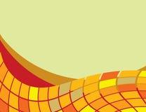 The background of geometric shapes Stock Photo
