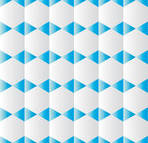 Background with geometric shapes blue and grey in relief Royalty Free Stock Photography