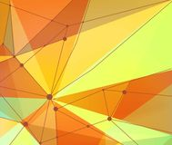 Background of geometric shapes Stock Image