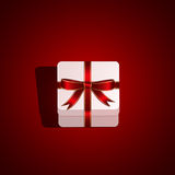 Background with gift box Stock Image