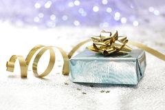 Background gift package Royalty Free Stock Photography