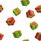 Background gifts Royalty Free Stock Images