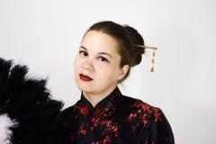 background girl portrait white στοκ φωτογραφία