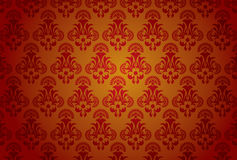 Background glam. Antique floral pattern Stock Image
