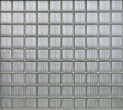 Background of glass blocks wall Stock Images