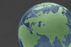 Background of glass globe Royalty Free Stock Photo