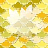 Background with glass maple leaf. Vector autumn background with glass maple leaf Royalty Free Stock Photos