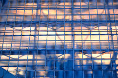 Background of the glass roof Royalty Free Stock Image