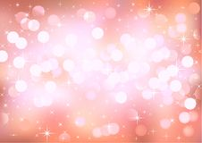 Background glittering pink lights Royalty Free Stock Photography