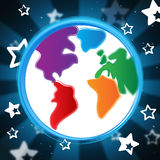 Background Globe Indicates Globalisation Backdrop And Abstract Stock Images