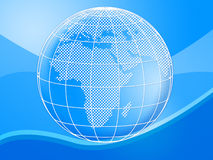 Background Globe Means Globally Globalise And Design Stock Photos