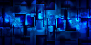 Background of glossy squares. Abstract blue background of glossy squares Stock Photography
