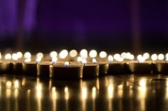 Armenian Genocide Remembrance Day. Background with glowing candles , Armenian Genocide Remembrance Day royalty free stock images