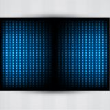 Background with glowing lights. Dark abstract background with glowing lights vector illustration