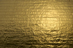 Background of gold. Detail of the gold leaf wrapped dome of the massachusetts state house in boston suitable as a background image Royalty Free Stock Photos
