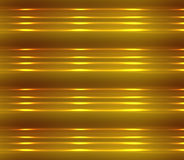 Background of gold and brown with glowing light and 3d effect. Stock Photography