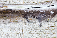 Background with gold, cracks and streaks of paint in retro style Royalty Free Stock Photography