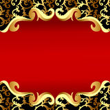 Background  with gold(en)sample on background Royalty Free Stock Photo