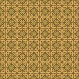 Ornament Love Pattern Background Gold. Background with gold flowers and love colors vector illustration
