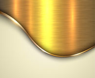 Background gold metallic Stock Photography
