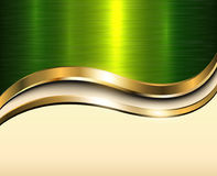 Background gold metallic Royalty Free Stock Photos