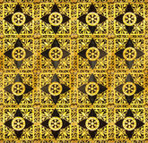 Background from a gold ornament Royalty Free Stock Images