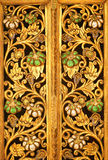 Background gold ornament Royalty Free Stock Image