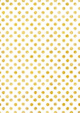 Background in gold polka dot, holiday texture Stock Photos