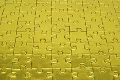 Free Background Gold  Puzzle Royalty Free Stock Photos - 8282898