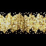 Background of gold sparkles Royalty Free Stock Images