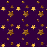 Background with gold stars. Pattern stars Vector Illustration
